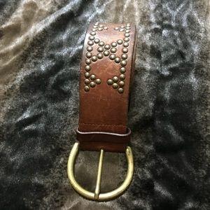 Banana Republic Women's brown leather belt size L